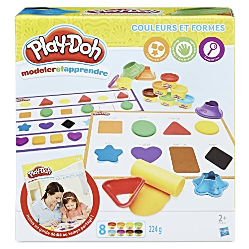 Play-Doh - B34041010 -  Modeler/Apprendre - Les Couleurs Et Formes