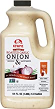 Kewpie Roasted Garlic Onion Dressing & Sauce, 64 Ounce
