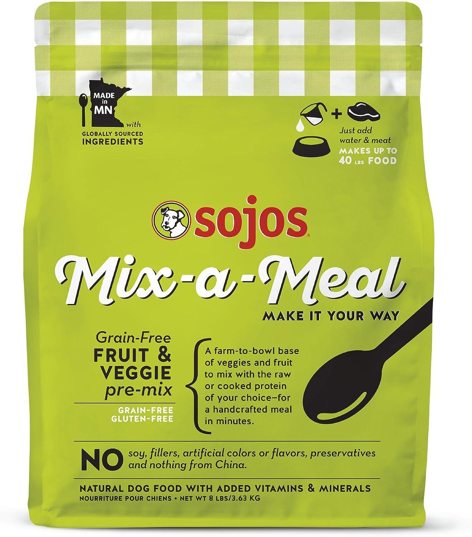 Sojos Mixameal PreMix Natural Deidred Dog Food