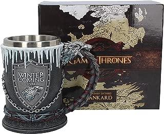 Nemesis Now House Stark Tankard Game of Thrones Mug 20cm Black