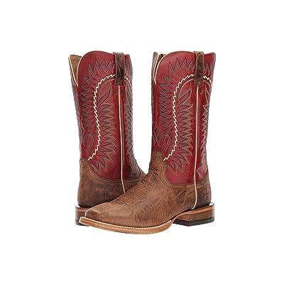 Ariat Relentless Elite (Dust Devil Tan/True Red) Cowboy Boots