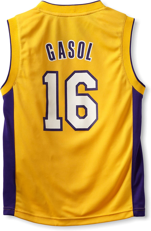 Amazon.com : NBA Los Angeles Lakers Pau Gasol Youth 8-20 Replica ...