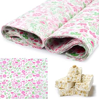100 Pcs Wax Paper Sheets Deli Wraps Food Wrapping Paper, Greaseproof Waterproof Squares Paper Dry Hamburger Paper for Baki...