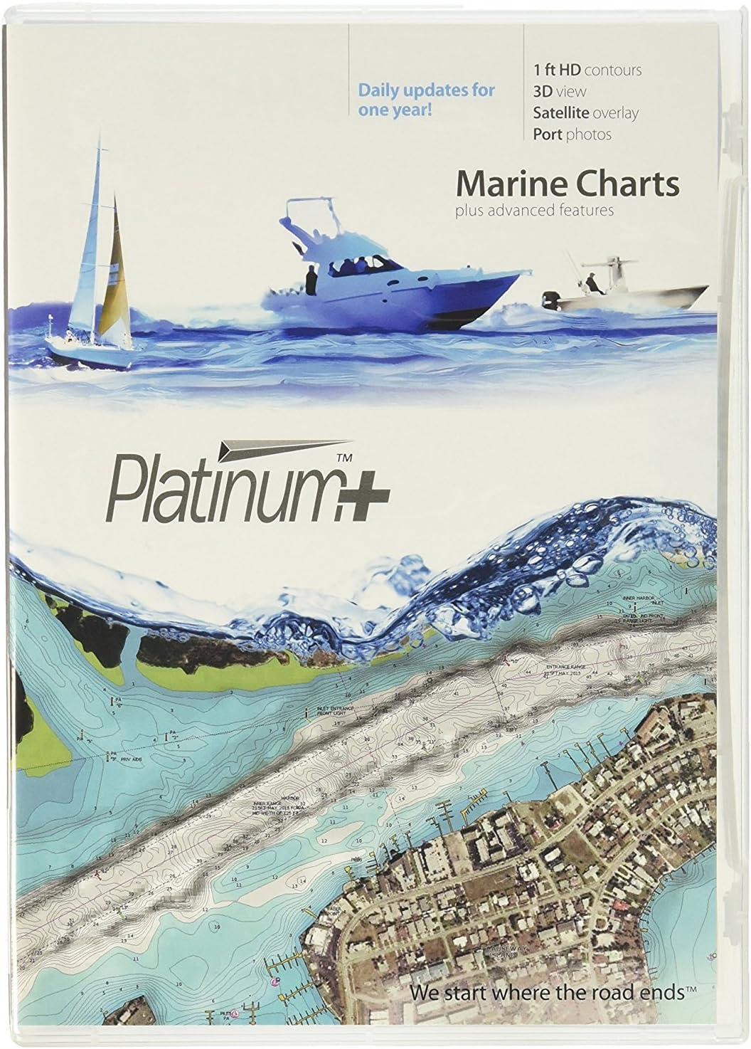 Navionics Platinum Plus 906PP - Southeast and Bahamas - SD Card