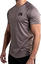 SATIRE GYM® Sportkleding voor Heren/Sport T-Shirt ademend Trainingsshirt Mannen/korte mouwen Fitness Shirt training
