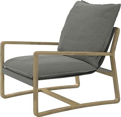 Amazon.com: Benzara BM187471 - Silla moderna de salón con ...