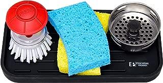 Sink Caddy - Sponge Holder Tray Kitchen Sink Organizer - Sponges, Soap Dispenser Highly Durable