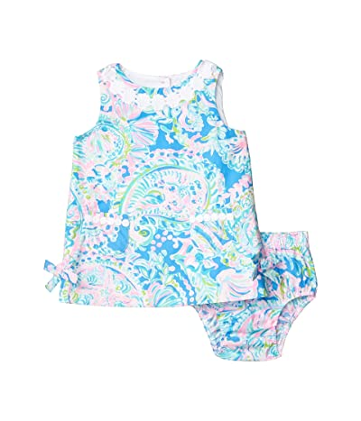 Lilly Pulitzer Kids Baby Lilly Shift Dress (Infant) (Multi Dream Team) Girl