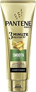 Pantene Pro-V 3 Minute Miracle Smooth & Sleek Conditioner, 180ml