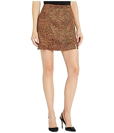 LOST + WANDER Indiana Skirt (Leopard) Women