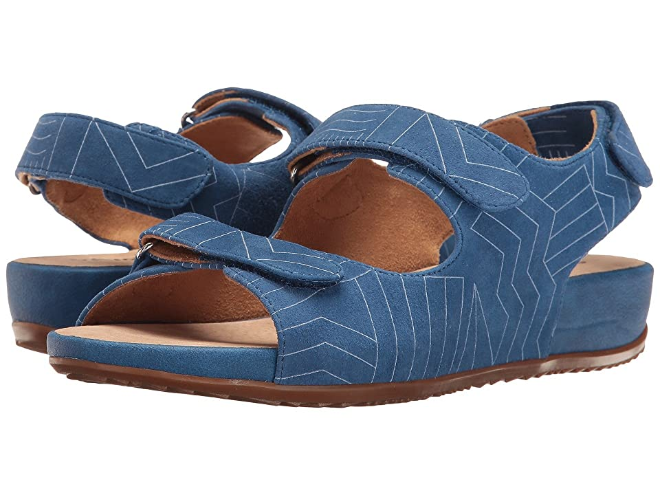 SoftWalk Dana Point (Ocean Blue/White) Women