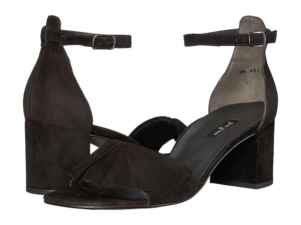 Paul Green Pammy Heel (Black Suede) High Heels