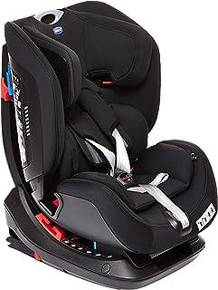 Chicco Sirio 012 Baby Car Seat Black, Intrigue 0-6Y