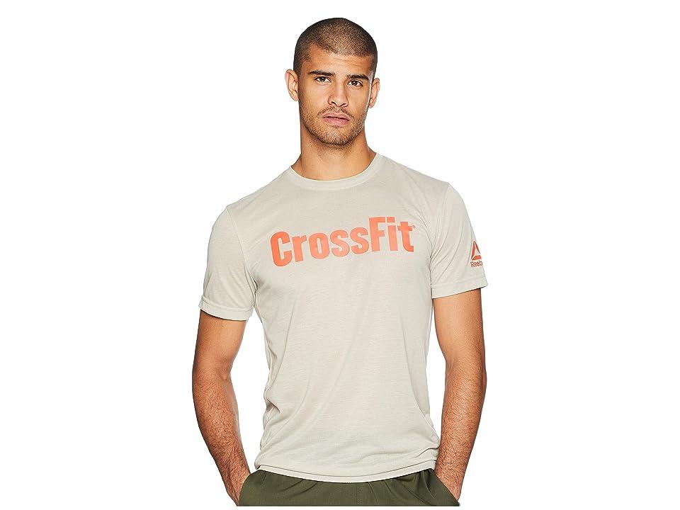 Reebok Crossfit Forging Elite Fitness Tee (Parchment) Men