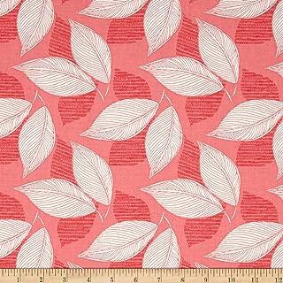 Moda Aria Leaflet Begonia Fabric By The Yard