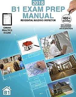 2018 B1 Exam Prep Manual: Residential Building Inspector