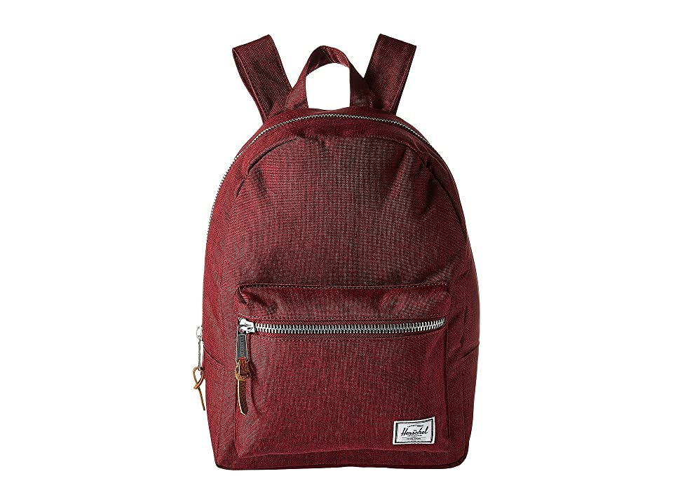 Herschel Supply Co. Grove X-Small (Winetasting Crosshatch) Backpack Bags