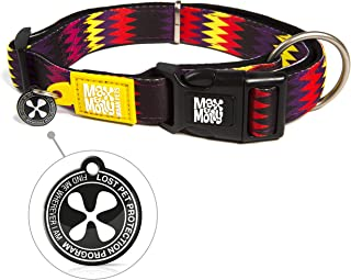 Max & Molly Latte Classic Smart Id Collar  Comfortable   Odor Free Neoprene  Smart Id Tag   Lost Pet Protection Program   ...