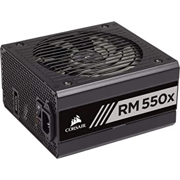 Corsair CP-9020177-UK RM550x 80 PLUS Gold 550 W Fully Modular ATX Power Supply - Black