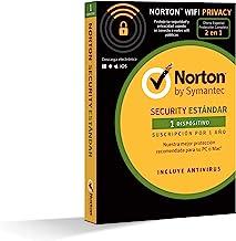 Norton Security Estándar y Wifi Privacy 2018 | 1 dispositivo | 1 año | PC/Mac/iOS/Android | Descarga