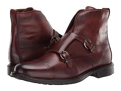 Massimo Matteo Double Monk Boot (Pinhao) Men