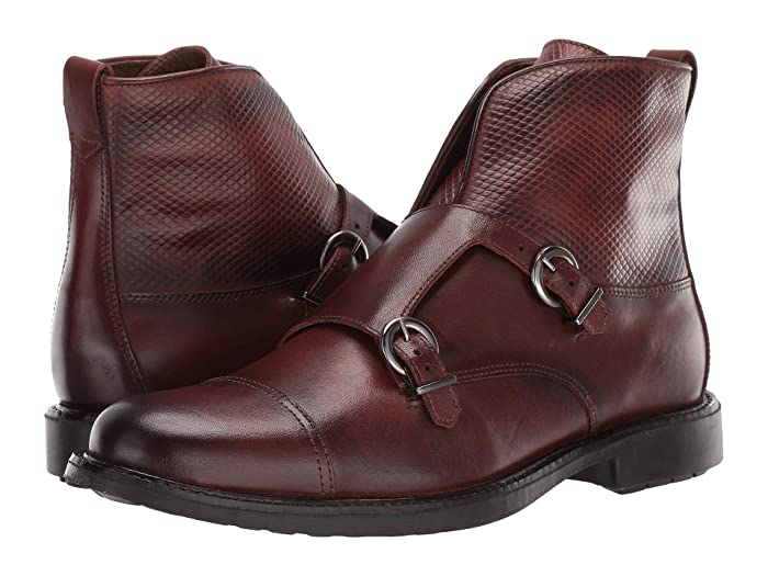 Steampunk Boots and Shoes for Men Massimo Matteo Double Monk Boot Pinhao Mens Shoes $98.00 AT vintagedancer.com