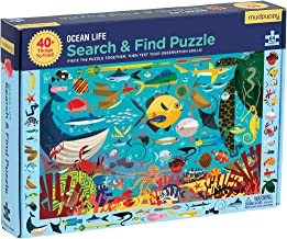 Mudpuppy Ocean Life Search & Find Puzzle