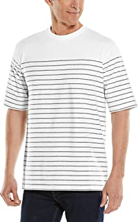 Coolibar UPF 50+ Men's Morada Everyday Short Sleeve T-Shirt - Sun Protective