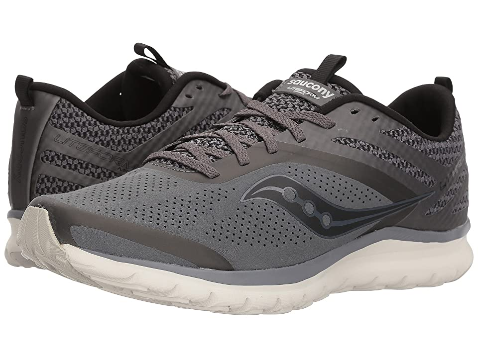 Saucony Liteform Miles (Grey (Perf Suede)) Men