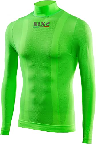 SIXS Maillot Ts3, Vert Fluo, Taille L