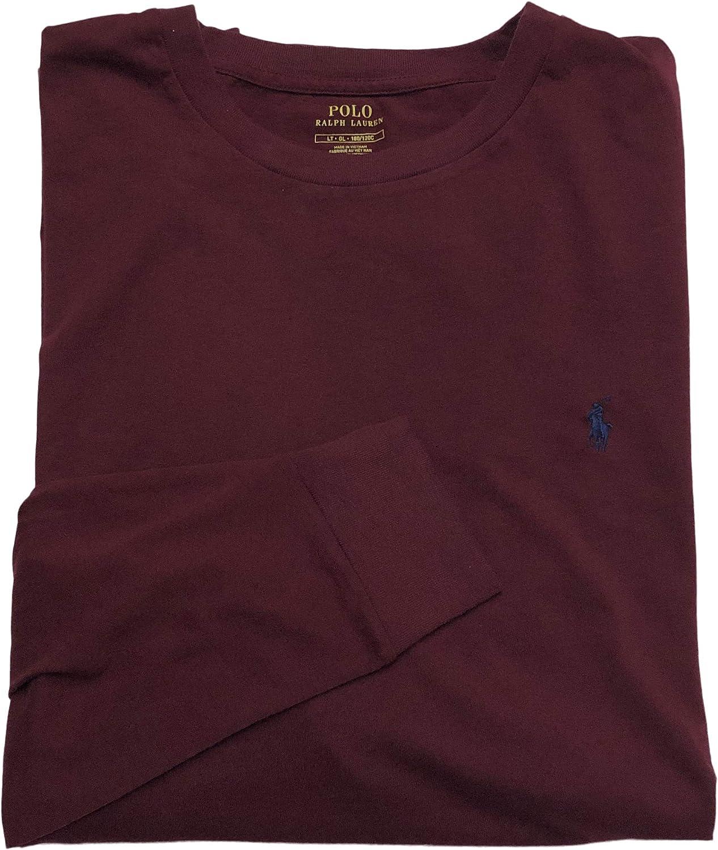 Polo Ralph Lauren Mens Big & Tall Logo Heathered T-Shirt