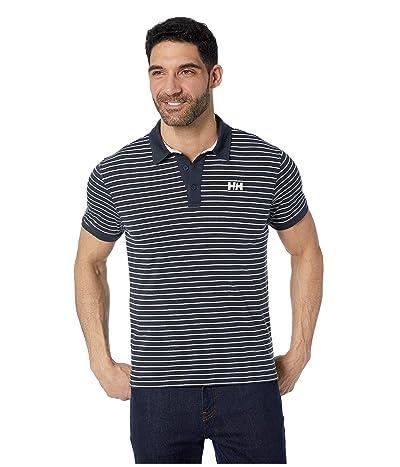 Helly Hansen Fjord Polo (Navy Stripes) Men