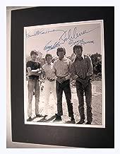 Beatles Circa 1960,s 11x14 Double Matted 8x10 Photo Print John Lennon Ringo Paul Mccartney George Harrison Reprint Signatures Autograph