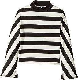 Splendid Littles - Yarn-Dyed Stripe Loose Knit Top (Big Kids)