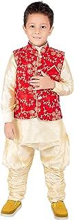 Boys Festive & Party Jacket Kurta,Waist Coat & BREEJES Pant(TR)