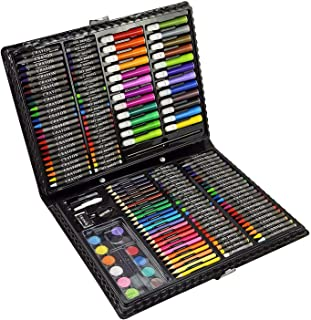 Coloring Art Set for Kids, 168pcs Coloring, Drawing & Painting tools in a Case