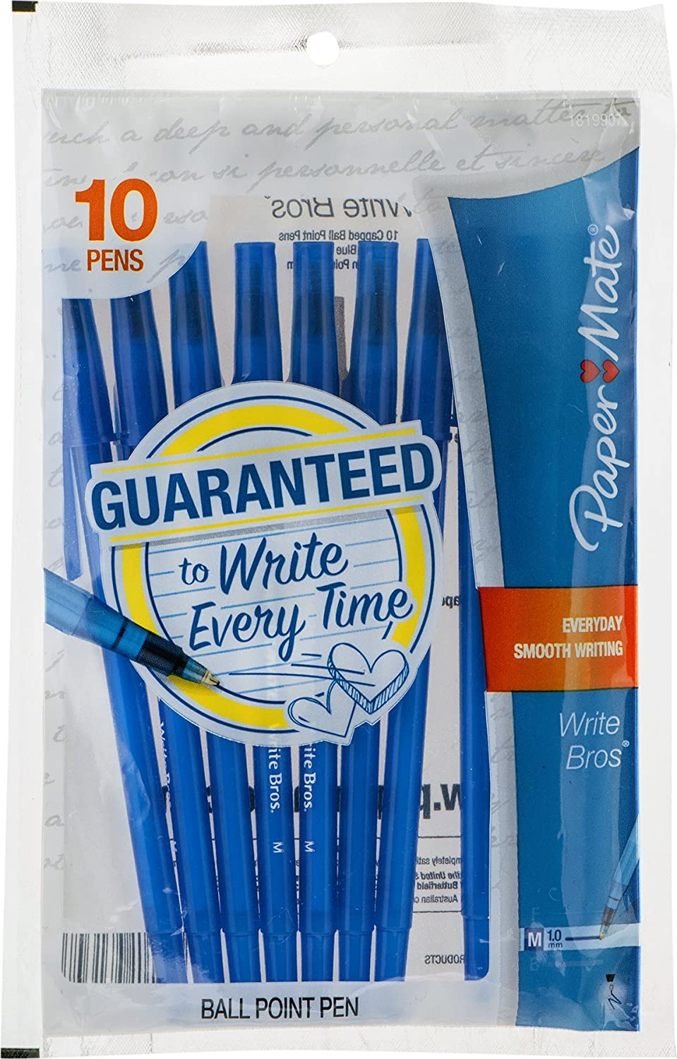 Paper Limited time cheap Gorgeous sale Mate 9313499 Blue Medium Write Tip Stick Brothers Ballpoin