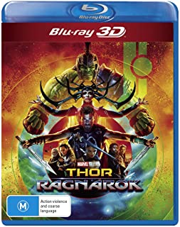 Thor Ragnarok 3D Blu-ray | Chris Hemsworth | Region Free