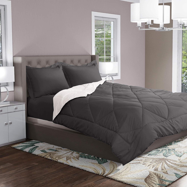Brand Cheap Sale Venue Reversible Store Hypoallergenic Microfiber Twin Comforter - Set S
