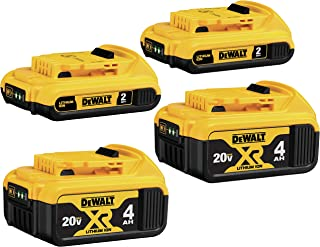 DEWALT DCB324-4 20V Max Lithium Ion Battery 4 Pack