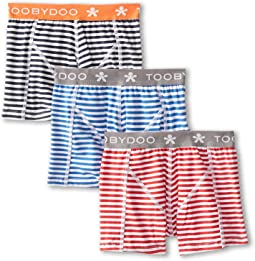 Toobydoo - Star of Stripes 3-Pack Underwear Set (Infant/Toddler/Little Kids/Big Kids)