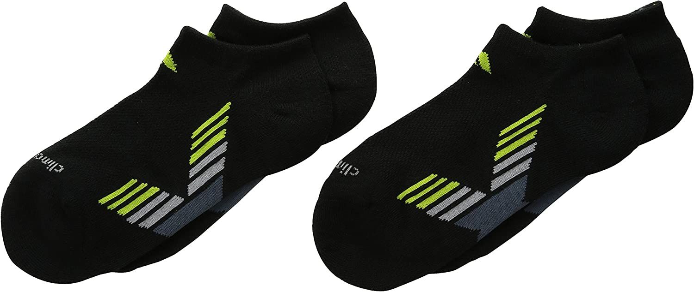 adidas Boy's Climacool X II No Show Sock (2 Pack)
