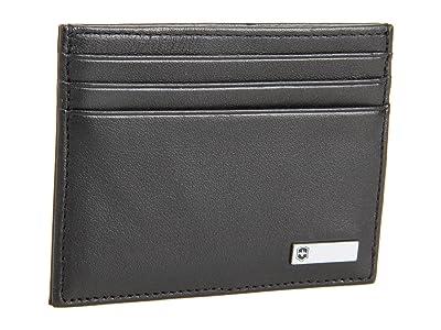 Victorinox Altiustm 3.0 Rome Leather Money Clip (Black Leather) Credit card Wallet