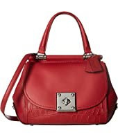 COACH - Exotic Mixed Leather Drifter Top-Handle