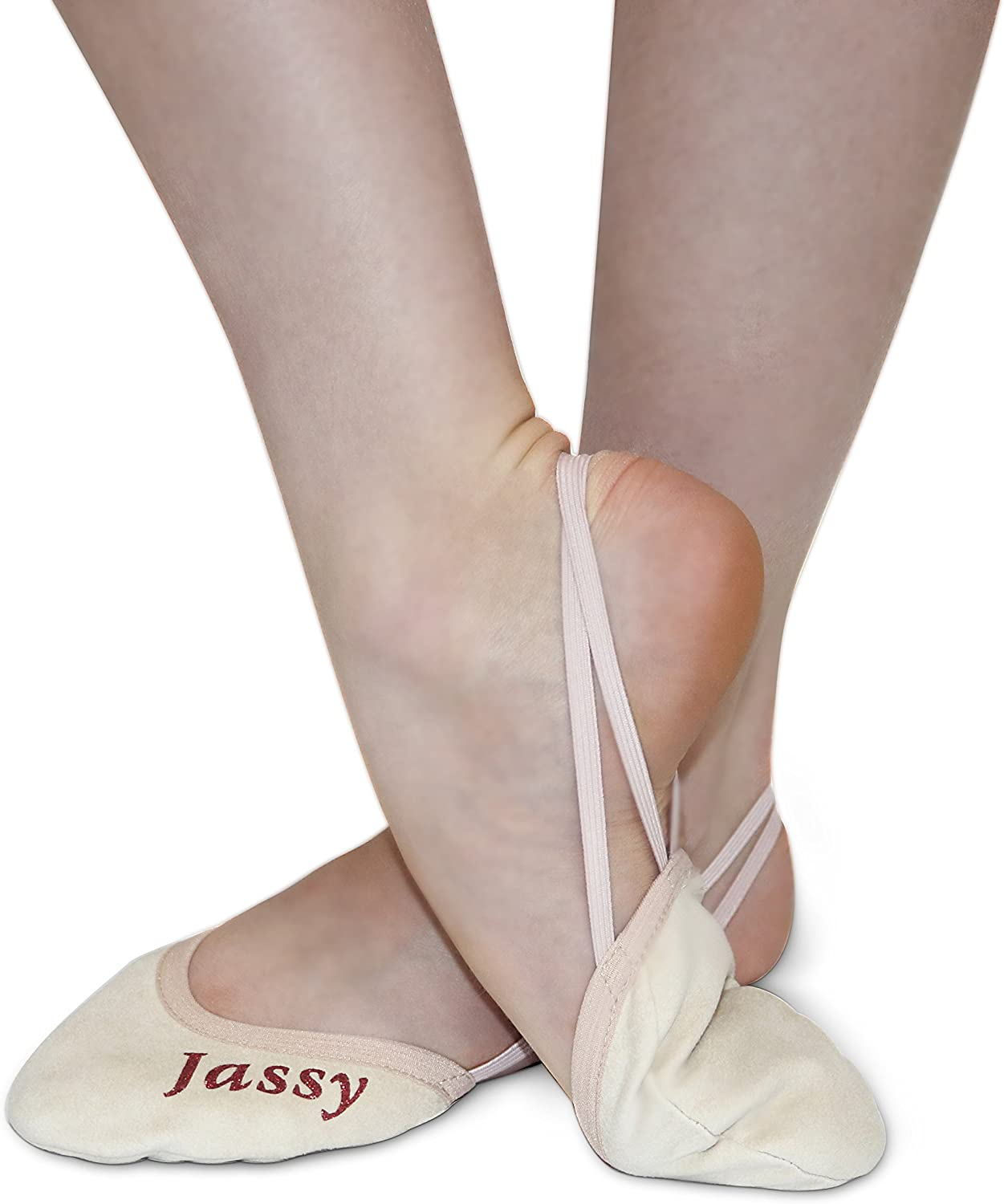 Kids-Teens-Adults Jassy Rhythmic Gymnastics Beginners Toe Shoes for All Ages MS02