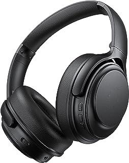 Bluetooth Wireless Headphones 40 Hours Playtime Active Noise Cancelling Headset AptX Codec Hi-Fi Audio Sound CVC 8.0 Mics ...
