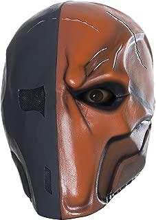 Costume Men's Arkham City Adult Deluxe Overhead Latex Death Stroke Mask