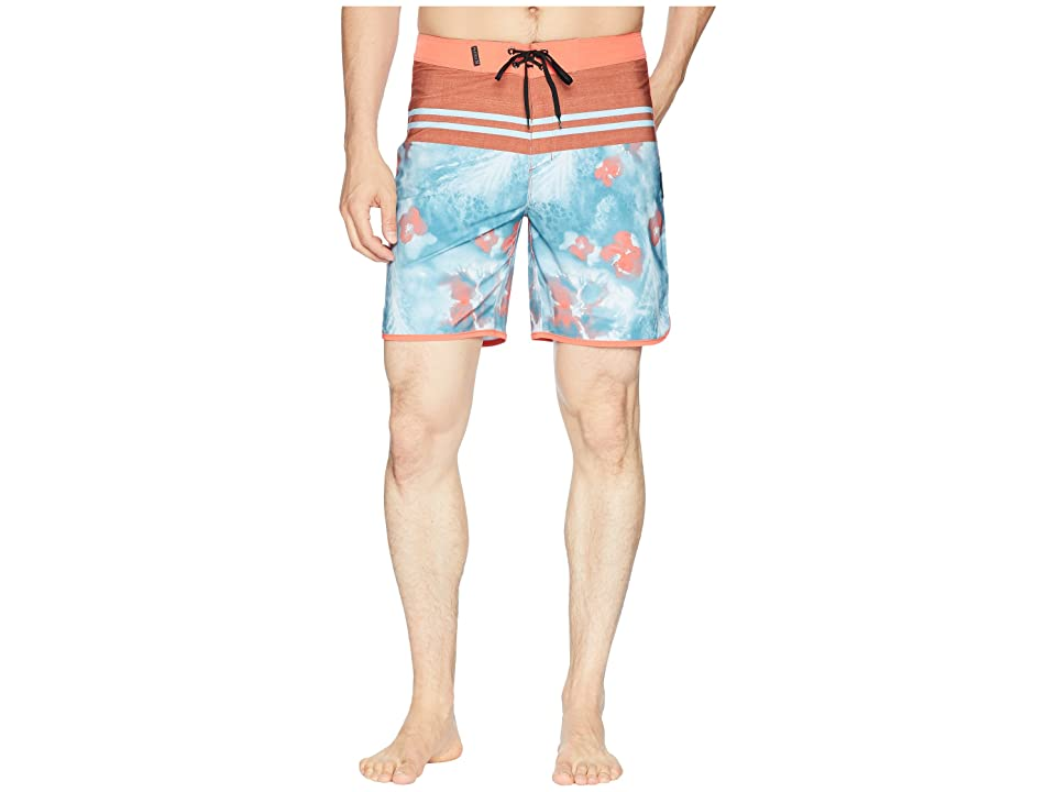 Hurley Phantom Drift 18 Boardshorts (Noise Aqua) Men
