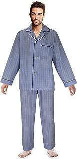 Men's Pajama Set Broadcloth Pajamas for Men,
