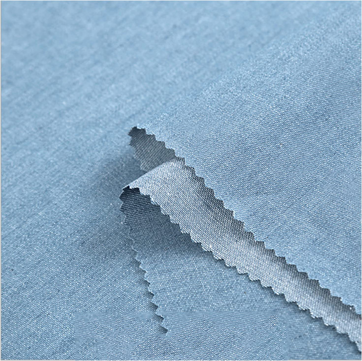 HUSTLE Cotton Denim Omaha Mall Fabric Jeans DIY Craft Sewing Fashion Clothe 2021 autumn and winter new